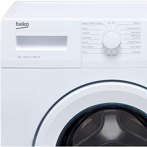 Beko WTG741M1W 7kg 1400rpm Freestanding Washing Machine - White