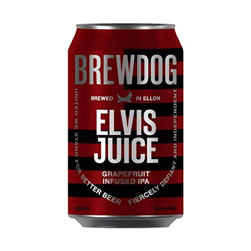 BrewDog - Elvis Juice (Grapefruit India Pale Ale) EINWEG, 1 x 330 ml