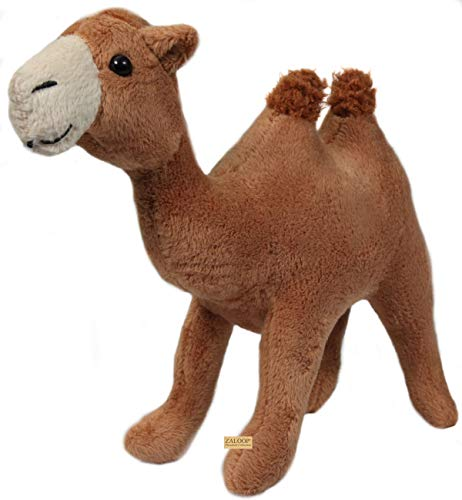 Zaloop Kamel oder Dromedar Kuscheltier Plüschtier Stofftier Stoffkamel C12 (Kamel)