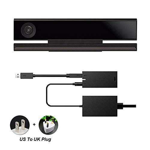 EU Plug Show Hinmay Adaptador de Corriente para Sensor Kinect 2.0 USB 3.0 para Xbox One S Xbox One X Windows PC Windows 8//8.1//10 App Programa de Desarrollo Interactivo