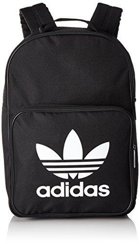 adidas Trefoil Backpack - Black, 30 x 44 x 17 cm, 17 l