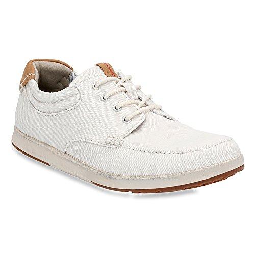 Clarks Men's Norwin Vibe Sneaker,Burgundy,US 11 M