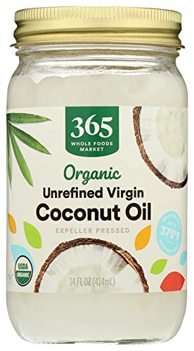 365 by Whole Foods Market, Expeller Pressed Coconut Oil, Unrefined Virgin, 14 Fl Oz