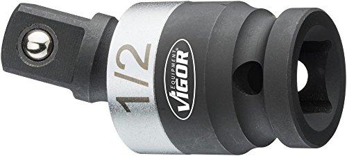 Preisvergleich Produktbild Vigor Kraft-Gelenkstück (12, 5 mm (1 / 2 Zoll) Vierkant,  25° Schwenkwinkel) V5505-1 / 2