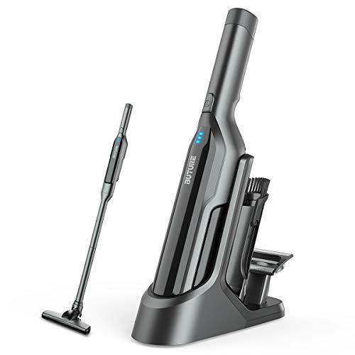 Aspirateur à Main Sans Fil,Aspirateur Voiture 17000Pa avec Lumières Led et USB Rechargeable,Aspirateur de Table pour Voiture/Maison/Poils d'Animaux