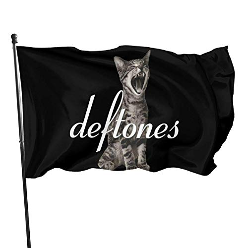Oaqueen Flagge/Fahne Deftones Logo Decorative Home Outdoor Flag3\' X 5\'