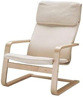 comprar comparacion Sillón voladizo «Pello», de abedul y tela de algodón, de Ikea, 1.25 mm, beige, 1