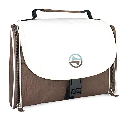 Manoda ® Kulturtasche in Einer exklusiven Geschenkbox für Damen & Herren - Die besonders stabile Kosmetiktasche - Kulturbeutel für Männer & Frauen