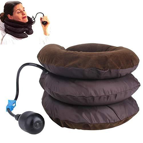 Miglior cuscino da viaggio Air Cuscino gonfiabile U Forma Collo Cuscino cervicale Testa Dolore Trazione Supporto Soft Brace Dispositivo Testa Posteriore Spalla Collo viaggio collo cuscino