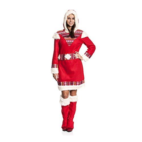 Kostümplanet® Eskimo-Kostüm Damen Größe 40/42
