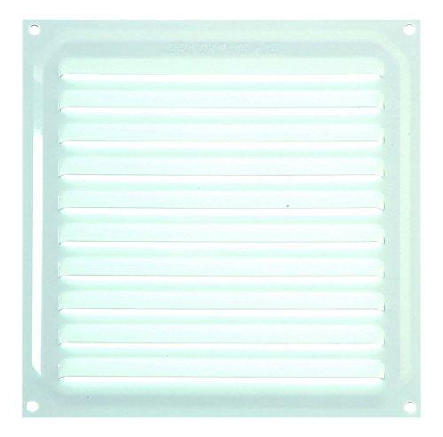 Brinox B70220D Rejilla de ventilación, Lacado Blanco, 15 x 15 cm
