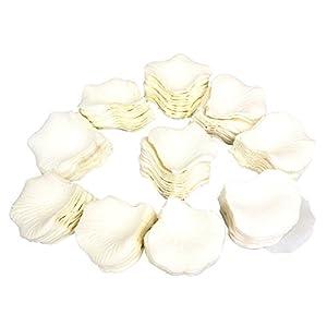 JUNGEN 1000Uds Pétalos de Rosa en Seda de Rosa Natural para Decoración Bodas Fiestas Confeti Tela Artificial Petalos De…