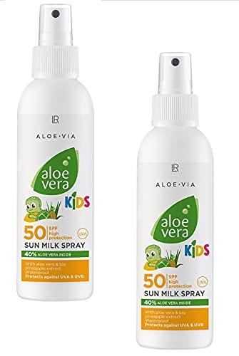 LR Aloe Vera Kinder Sonnenmilchspray LSF 50 (2 x Kids Spray)