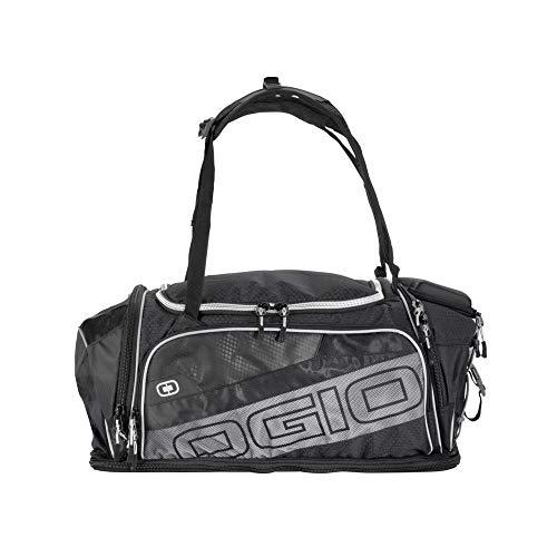 Motodak sporttas OGIO Gravity Duffle zwart/zilver