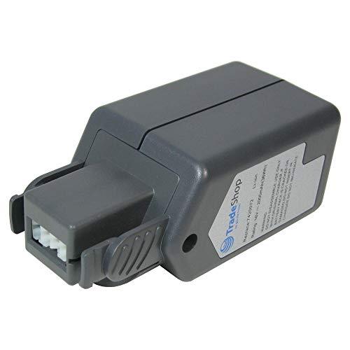 Trade-Shop Premium Akku 18V 2000mAh Li-Ion ersetzt Wolf Power Pack 3, 7420072, 7420090 für Rasentrimmer LI-ION Power GT 815, GTB 815, Akku-Heckenschere LI-ION Power HSA 45 V (7420000)