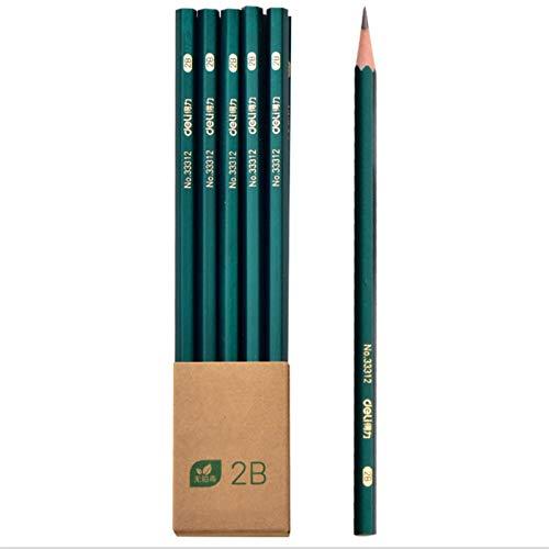 NIUPAN 10 potloden HB basisschoolleerlingen met examen schrijven tekenen beeldschets schets peuter schrijven 2B potlood |standaard potlood