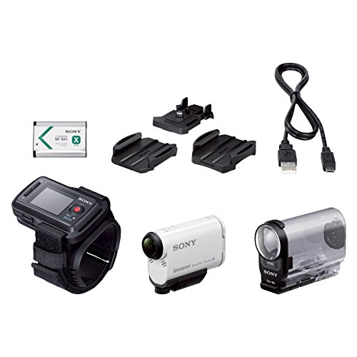 Sony Action Cam HDR-AS200VR - Videocámara deportiva (Full HD, resistente...