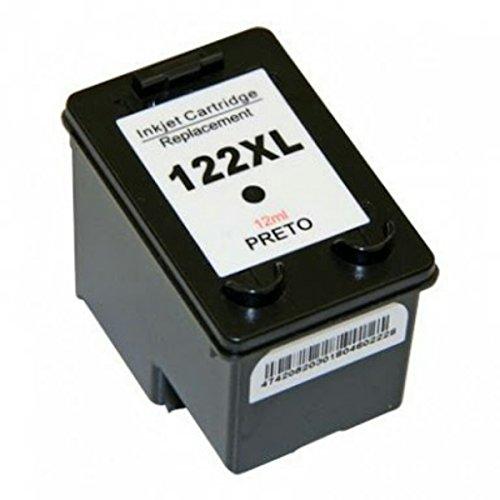 Cartucho de Tinta Compatível HP 122XL Preto | 12ML