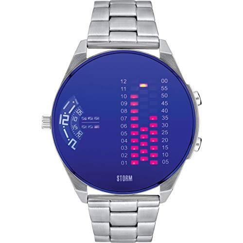 Storm London DIGIREM Lazer Blue 47431/LB Reloj de Pulsera para Hombres