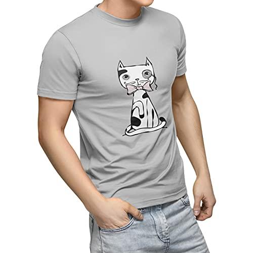 Bonamaison TRTSNG100218-L Camiseta, Gris, 50 Unisex Adulto