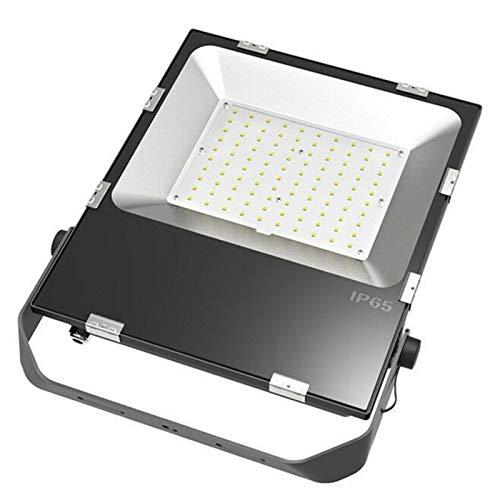 YEZIO Bombilla de maíz LED, Delgada LED del Reflector De 100W COB Epistar LED Llevó La Lámpara De La Calle De Iluminación, Lámpara de maíz de luz Diurna (Size : 100W 100-277V)