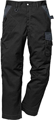 Fristads Kansas Workwear 114103 Combat Arbeitshose Gr. 32 cm, schwarz / grau