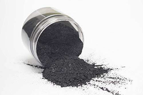 42g/1.5oz'Black Onyx' Mica Powder Pigment (Epoxy,Resin,Soap,Plastidip) Black Diamond Pigments by CCS