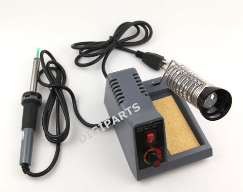 Stanz (TM) 58W Variable Temperature Soldering Station, Soldering Iron, Soldering Gun with Extra Tips