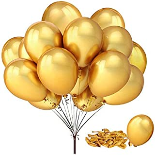 100 pcs 12 inch Gold Pearl Latex Balloon for Boy Girl Party for Activity Campaign
