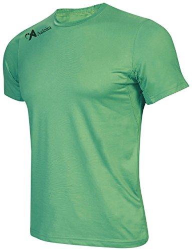 Asioka 130/16 Camiseta Deportiva, Unisex Adulto, Verde, M
