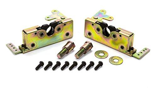 AutoLoc Power Accessories 9805 Large Locking Bear Claw Door Latch Set