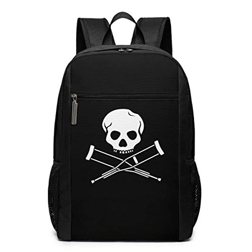 Mochila escolar de viaje, mochila de la serie de TV Jackass, mochila de viaje, mochila grande, bolsa de hombro para portátil para hombres, mujeres y niños