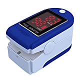 Pulse Oximeter,3 in 1 Pulse Oximeter Fingertip for Adult and Children with SpO2 Pulse Oximeter,Pulse Rate,Perfusion Index,Heart Rate Monitor with Lanyard,Automatic Shutdown and Fast Reading