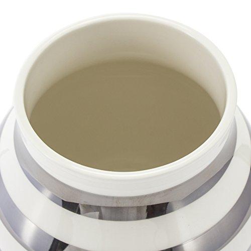 [ケーラー]Kahlerオマジオフラワーベースミディアム花瓶陶器シルバー15212OmaggiovaseH200花びんベースデンマーク北欧雑貨おしゃれギフト[並行輸入品]