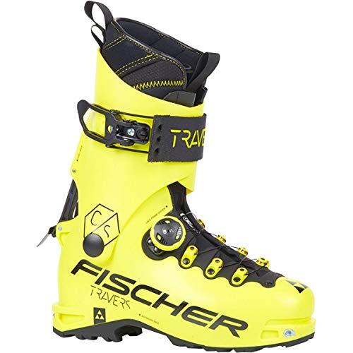 Fischer Scarpone da Sci Alpinismo Travers CS Uomo, Giallo, 27.5