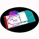 Bykski GPU Waterblock GPU Water Cooler Water Block PC Liquid Cooling Cooler for MSI GeForce RTX 3080 Gaming Trio 10G OC MSI GeForce RTX 3090 Gaming X Trio 24G OC (5V 3-Pin ARGB Aura RBW LED Lights)