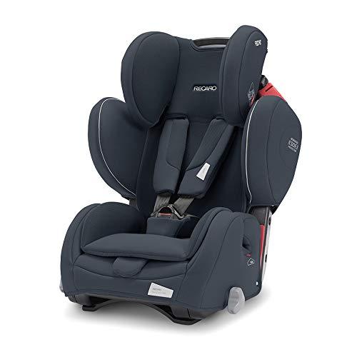 Recaro Kids, Young Sport Hero Kindersitz, Auto Kindersitz (9-36 kg), Gruppe 1-2-3, Komfort und Sicherheit, Universeller Einbau, Verstellbar, Patent Hero Sicherheitssystem, Prime Mat Black