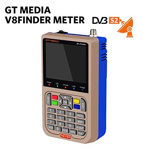 GTmedia V8 Satélite Finder DVB-S/DVB-S2 Localizador Buscador de Satélite FTA...