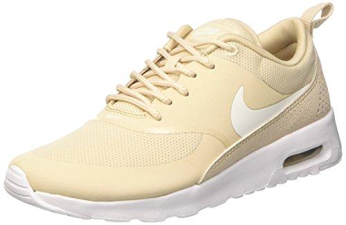 Nike Womens Air Max Thea Running Walking Athletic Shoes Beige 10 Medium (B,M)