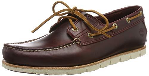Timberland Herren Tidelands Classic 2 Eye Bootsschuhe, Rot (Redwood Hmg), 40 EU