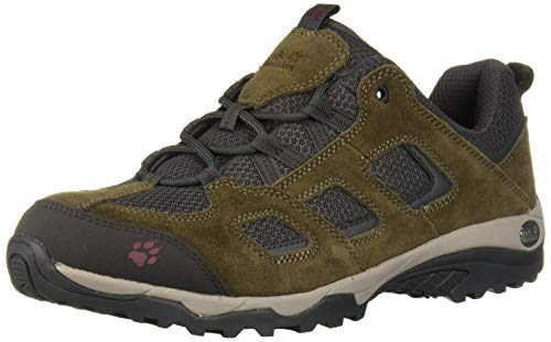 Jack Wolfskin Herren Vojo Hike 2 Low M Walking-Schuh, Coconut Brown/Dark Steel, 43 EU