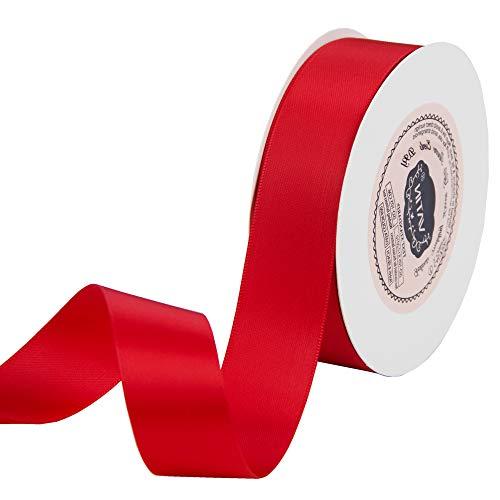 Red Satin Ribbon - 1