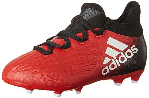 adidas Unisex-Kinder X 16.1 FG Fußballschuhe, Rot (Red/FTWR White/Core Black), 29 EU