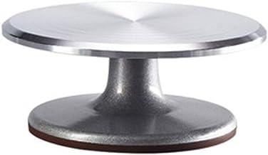 DGJ 9-inch Cake Turntable Stand, Stainless Steel Cake Making Frame (disk Diameter 22.8 Cm, Height 9.5 Cm) dgj420