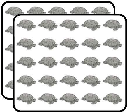 Giant Turtle Vinyl Stickers Grappig Leuke voor Kids DIY Crafts, Scrapbooking, Laptop, Bumper Car Stickers, Stickers voor kinderen, 50 Pack