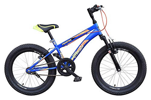 Cyclo India TATA Stryder MTB Frontex 20T Bicycle Full Heavy Tyre Road Cycle (Matt Blue)