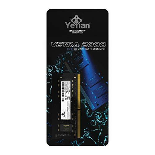 YEYIAN Memoria RAM Vetra SODIMM DDR4, 8 GB, 2666MHZ, 260 Pin