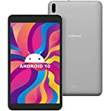 7-Inch Tablet Android 10.0 - Winnovo Quad-Core Processor 32GB Storage HD IPS Display 8MP Rear Camera WiFi Bluetooth GPS FM (Gray)