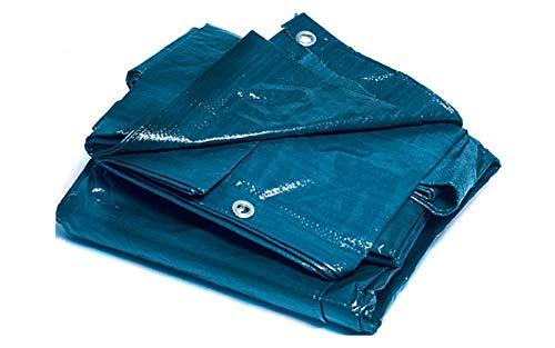Bcalpe 305282 Toldo rafia plastificado, Azul, 5 x 6 m