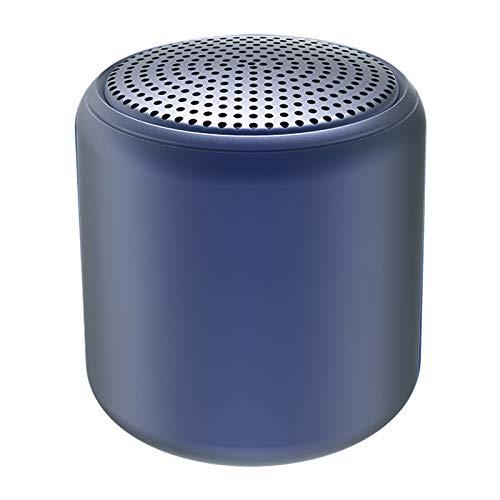Altavoz Bluetooth,Altavoz Bluetooth Potente,Mini Altavoz Bluetooth 5.0 Conexión TWS Mini Altavoz Bluetooth Portátil con Cordón Compatible con Teléfono Android y Otros Dispositivos Bluetooth(BLU)